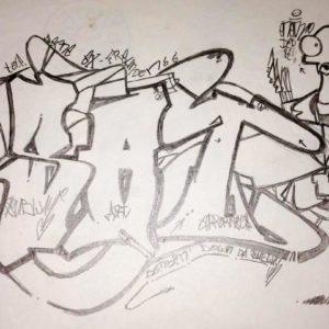 Christian Moses Holtz - Graffiti Zeichnen