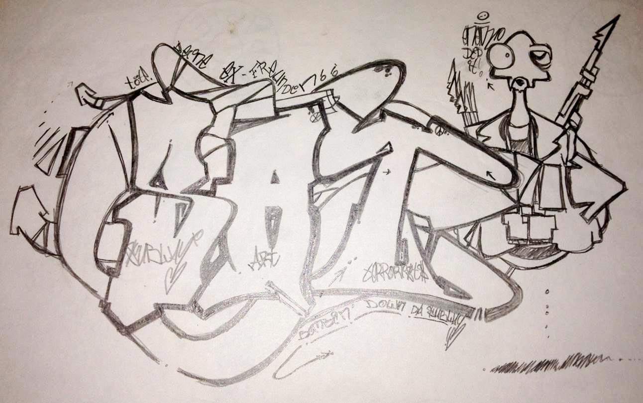 Christian Moses Holtz_GraffitiZeichnen