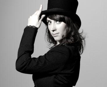 Simone Werner mit Hut